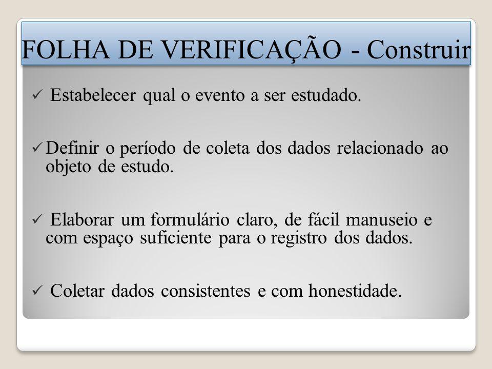 FOLHA DE VERIFICAÇÃO - Construir