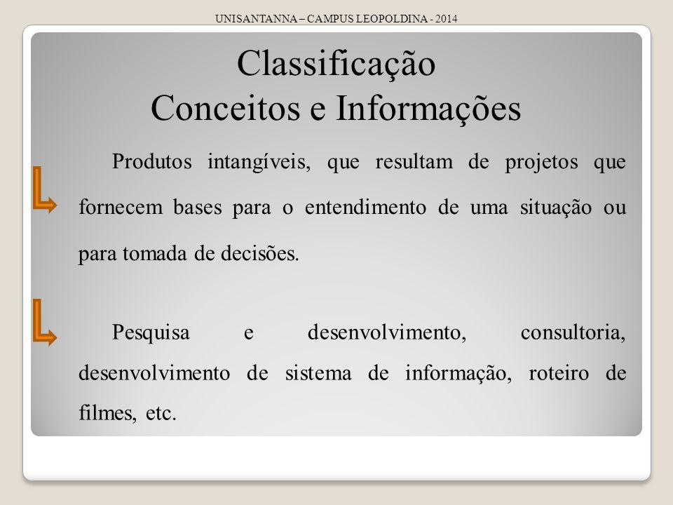 Conceitos e Informações