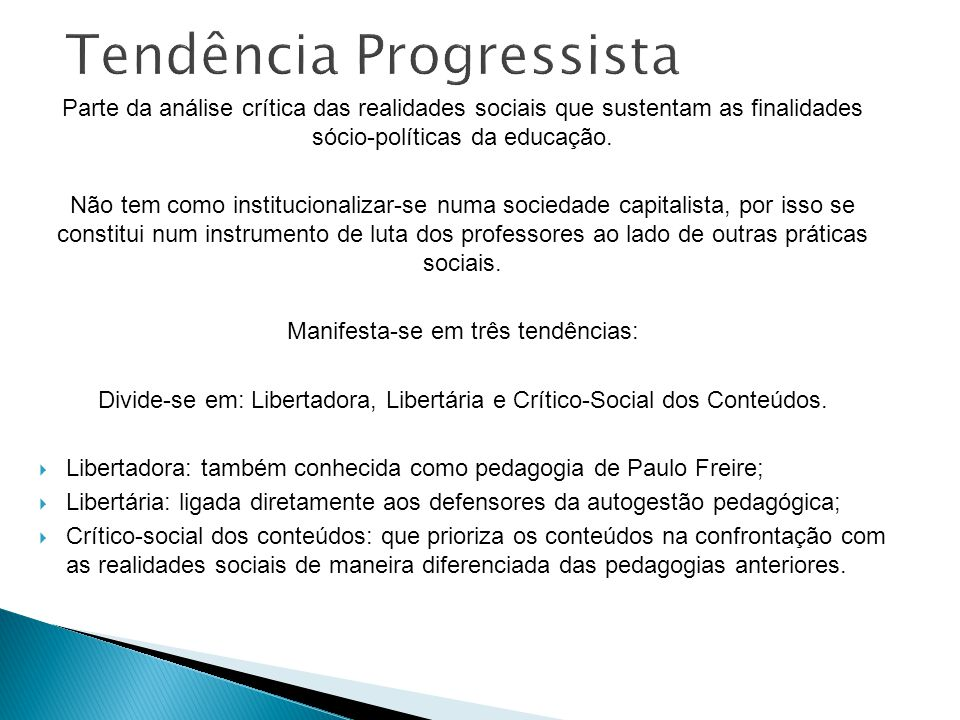 Tendência Progressista