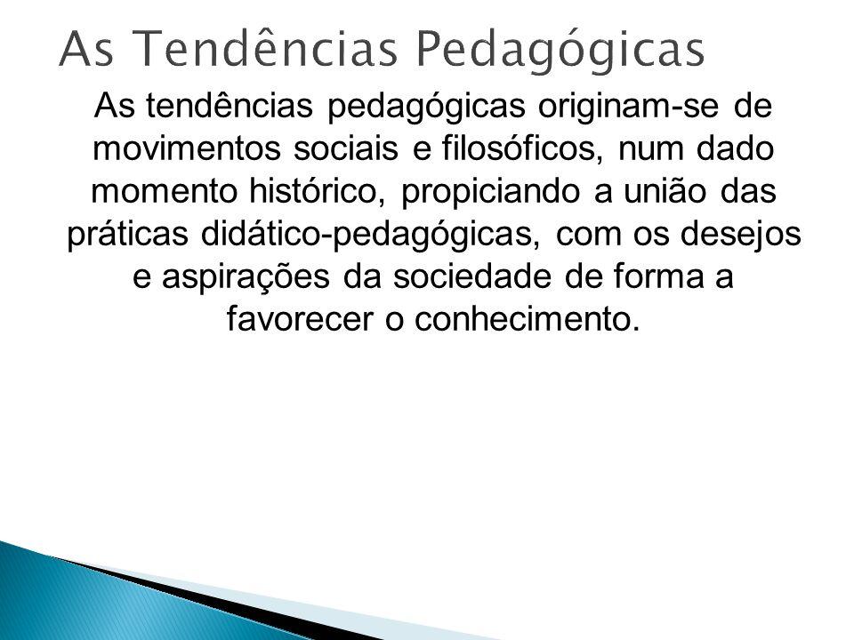 As Tendências Pedagógicas
