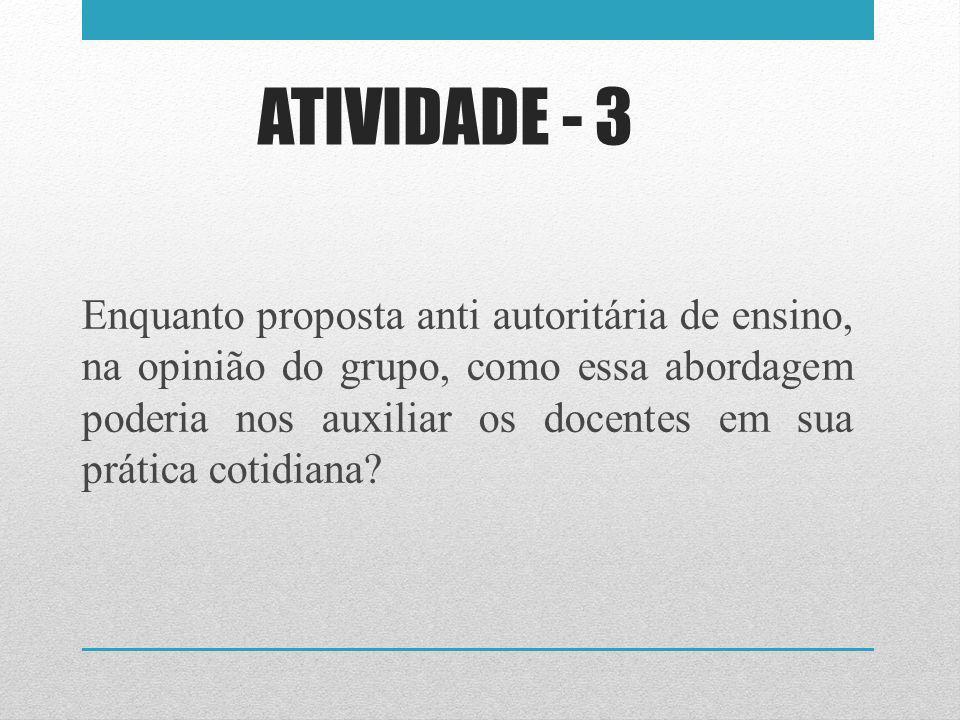 ATIVIDADE - 3