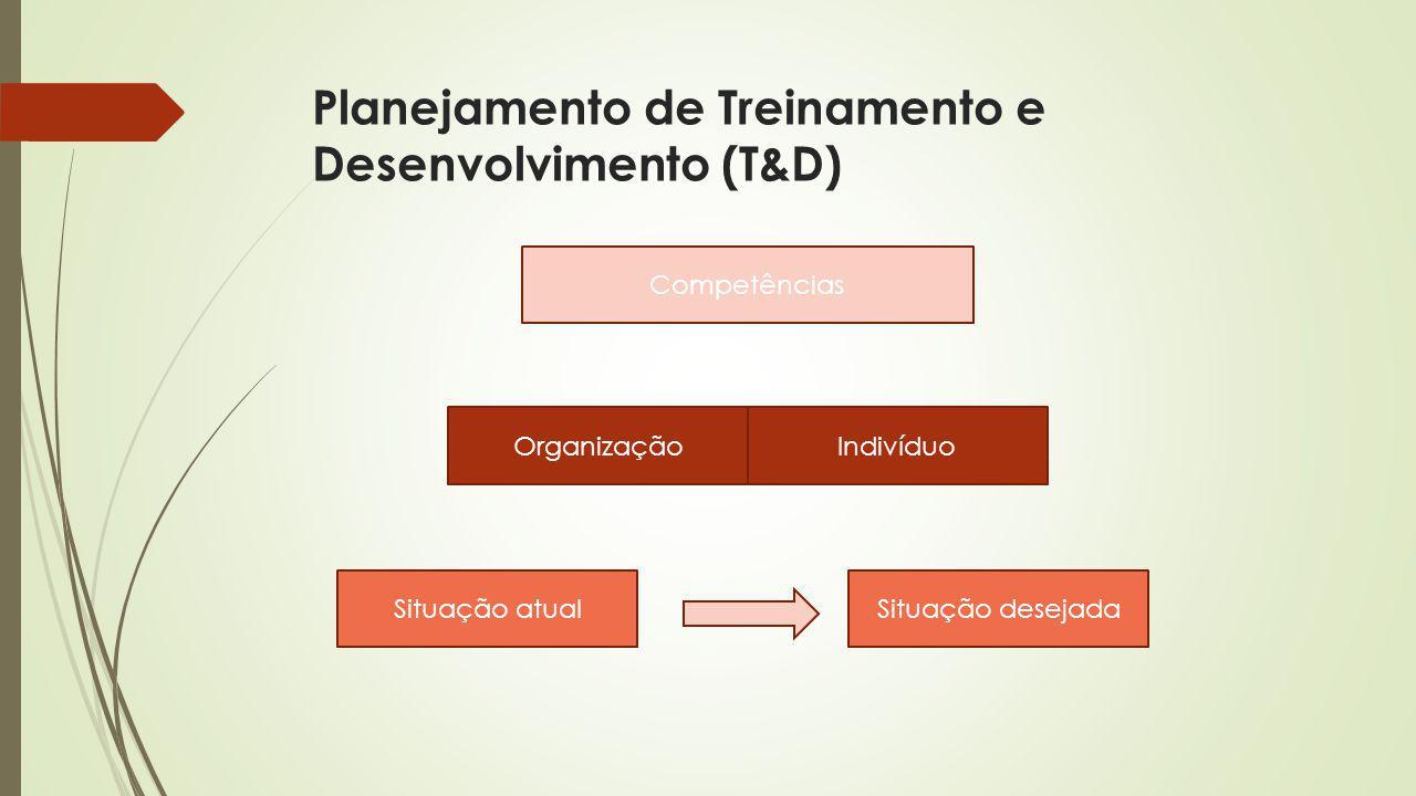 Planejamento de Treinamento e Desenvolvimento (T&D)