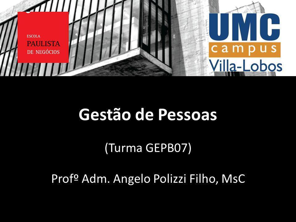 Profº Adm. Angelo Polizzi Filho, MsC