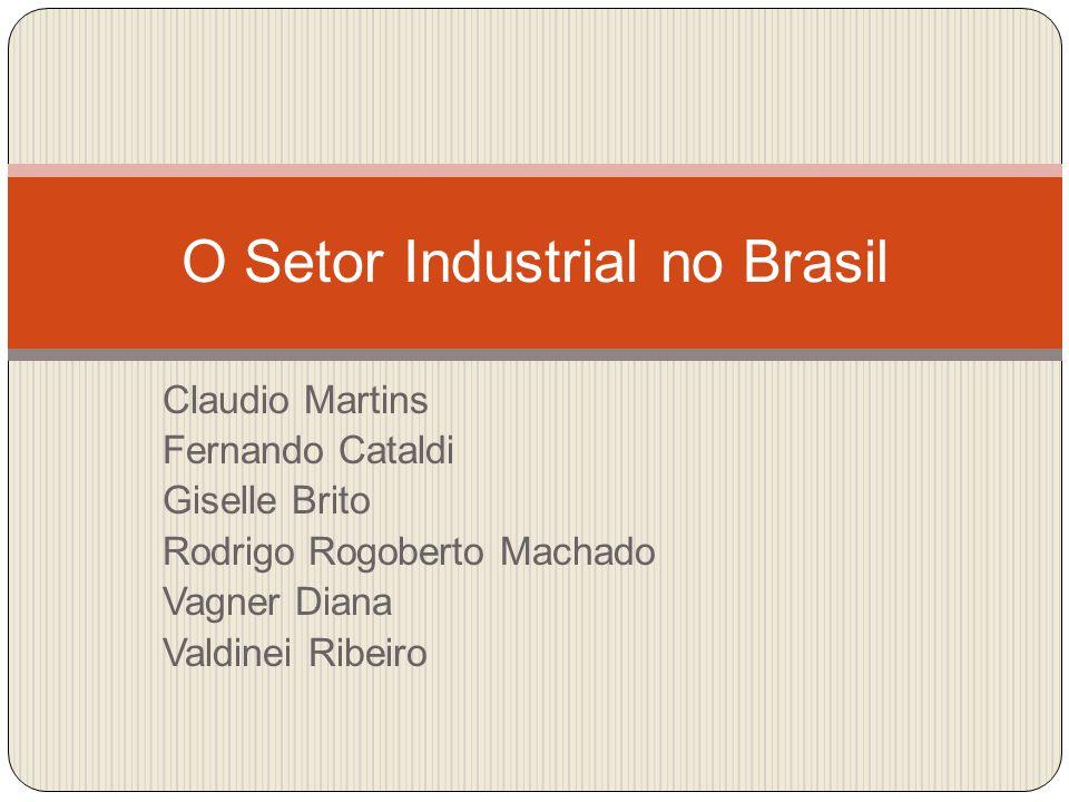 O Setor Industrial no Brasil