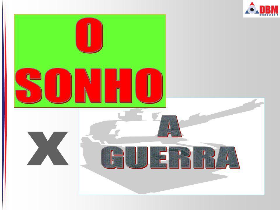 O SONHO A GUERRA x