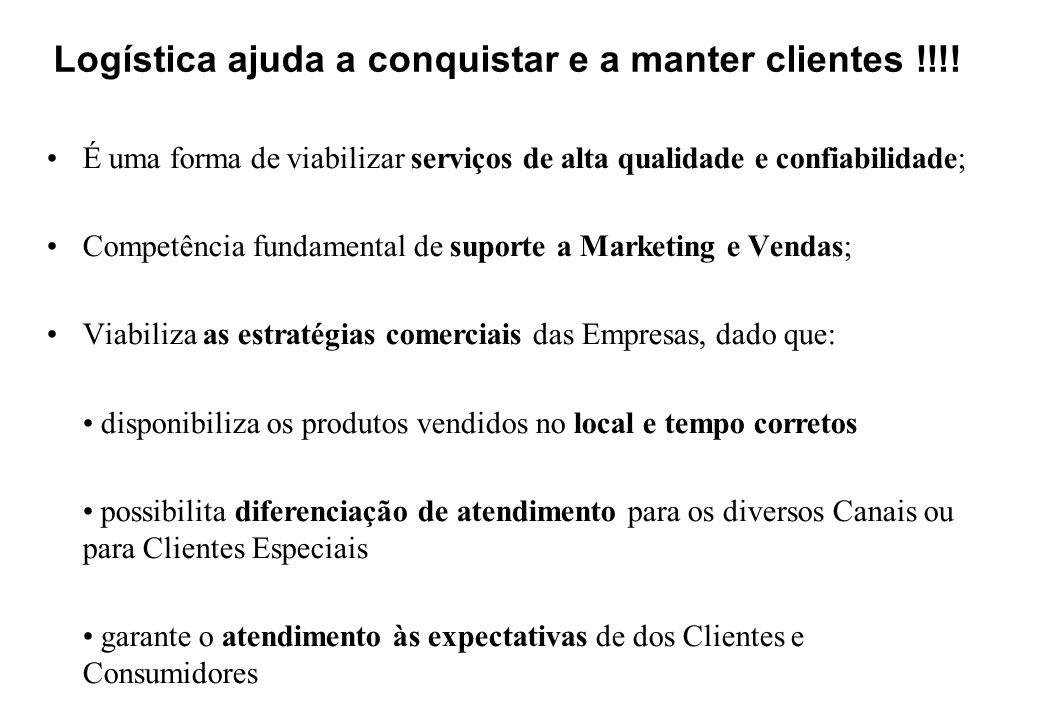 Logística ajuda a conquistar e a manter clientes !!!!