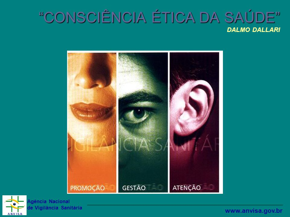 CONSCIÊNCIA ÉTICA DA SAÚDE DALMO DALLARI