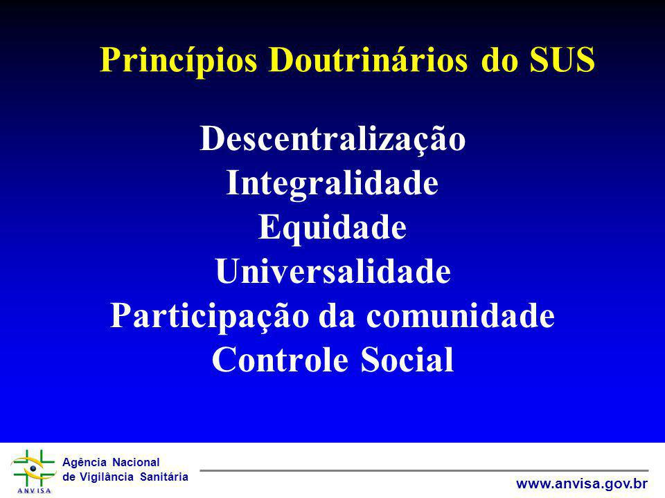 Princípios Doutrinários do SUS