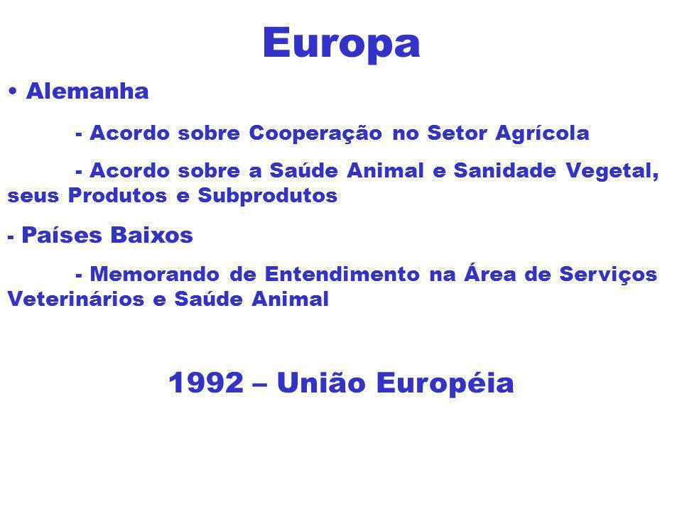 Europa 1992 – União Européia Alemanha