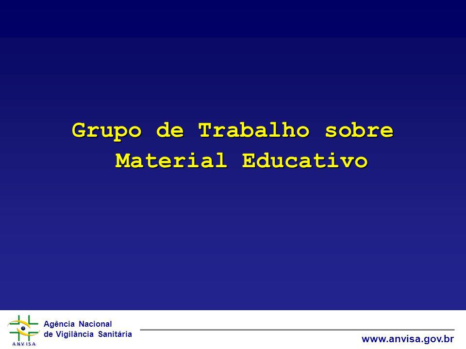 Grupo de Trabalho sobre Material Educativo