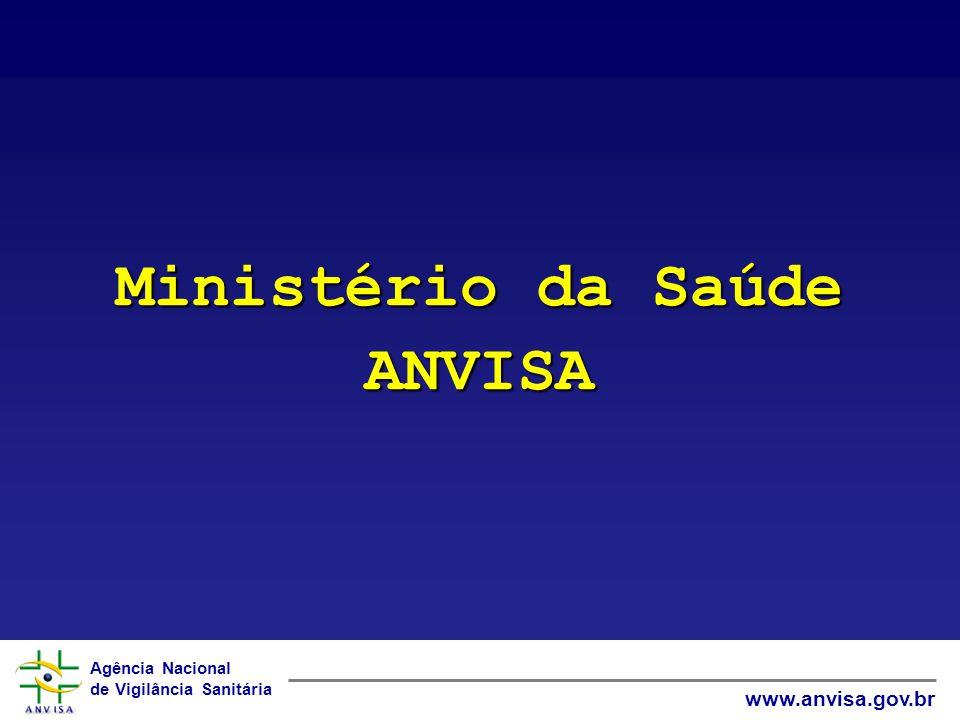 Ministério da Saúde ANVISA