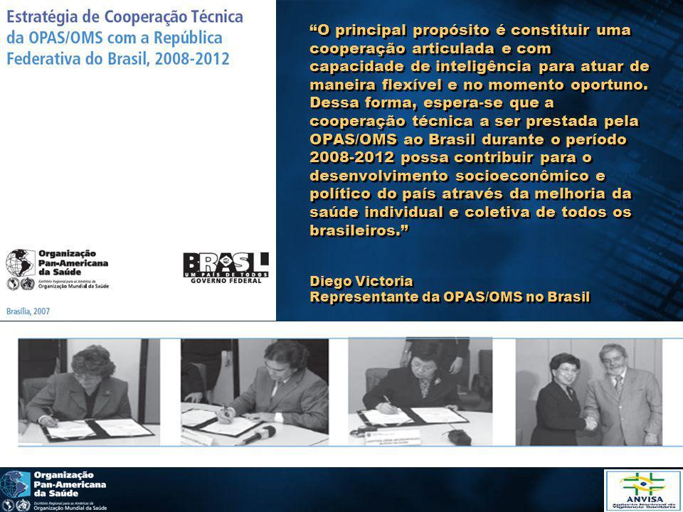 O principal propósito é constituir uma cooperação articulada e com capacidade de inteligência para atuar de maneira flexível e no momento oportuno.