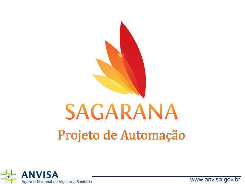 Projeto de Automação www.anvisa.gov.br