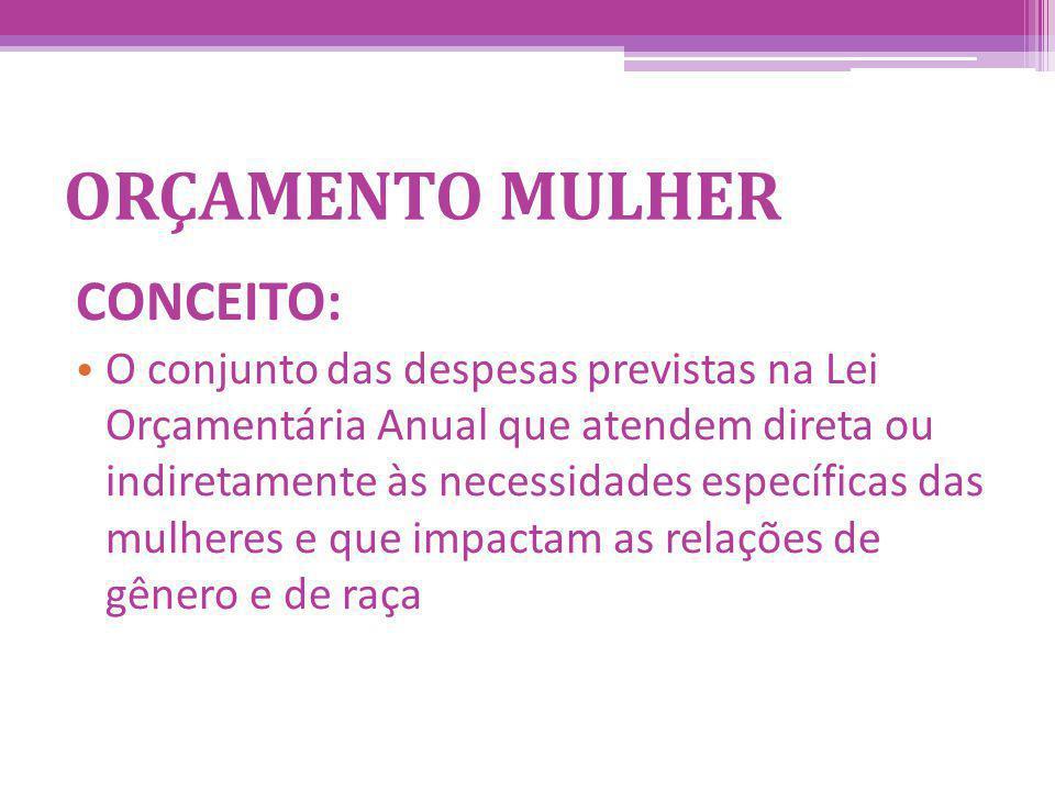 ORÇAMENTO MULHER CONCEITO: