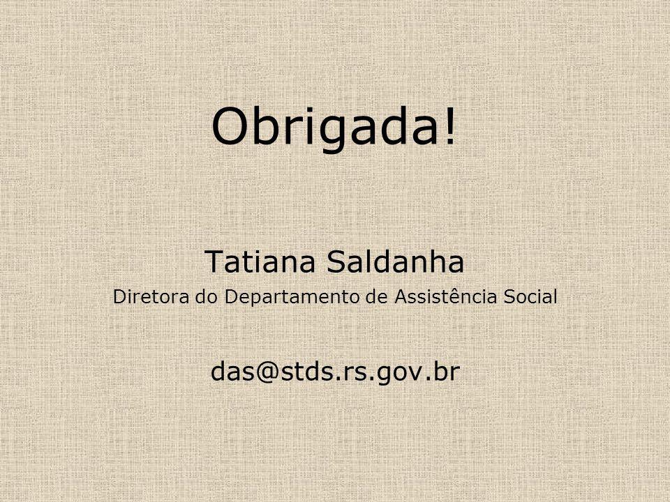 Diretora do Departamento de Assistência Social