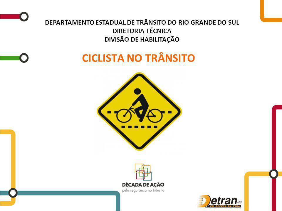 DEPARTAMENTO ESTADUAL DE TRÂNSITO DO RIO GRANDE DO SUL DIRETORIA TÉCNICA DIVISÃO DE HABILITAÇÃO