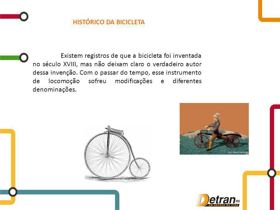 HISTÓRICO DA BICICLETA