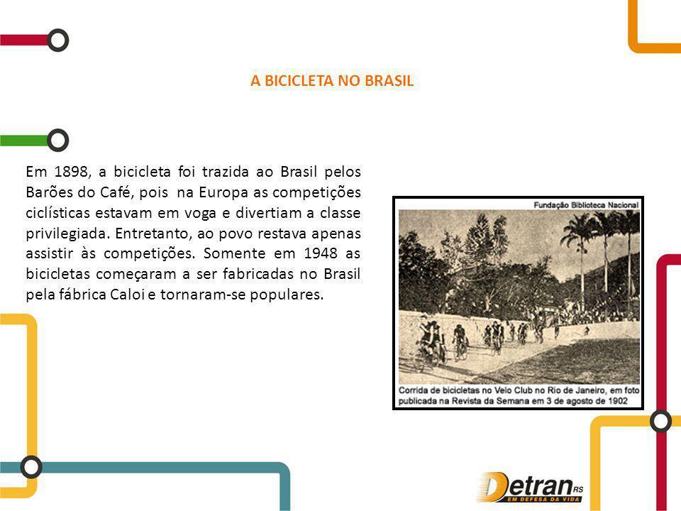 A BICICLETA NO BRASIL