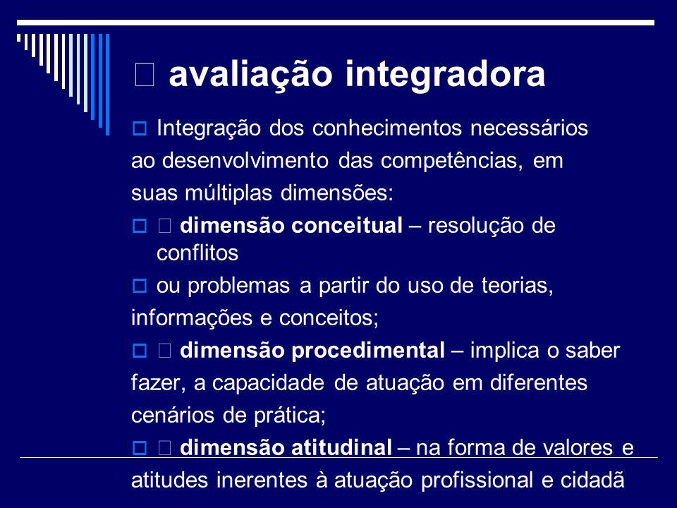  avaliação integradora