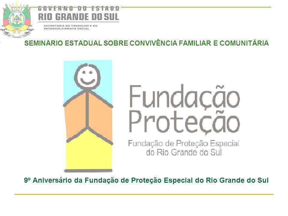 9º Aniversário da Fundação de Proteção Especial do Rio Grande do Sul