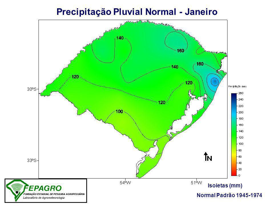 Precipitação Pluvial Normal - Janeiro