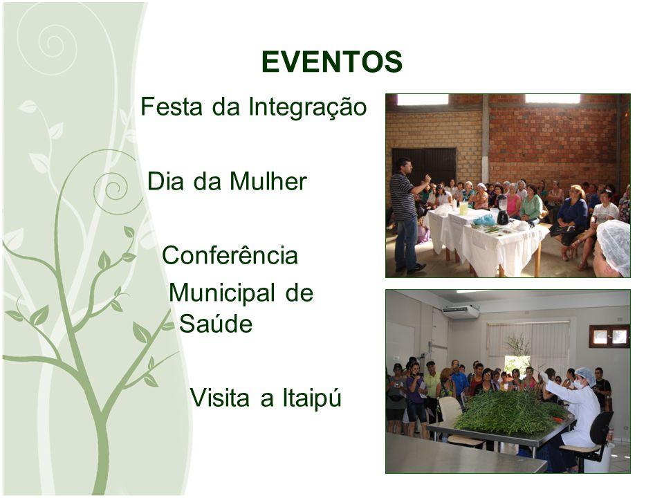 EVENTOS Festa da Integração Dia da Mulher Conferência