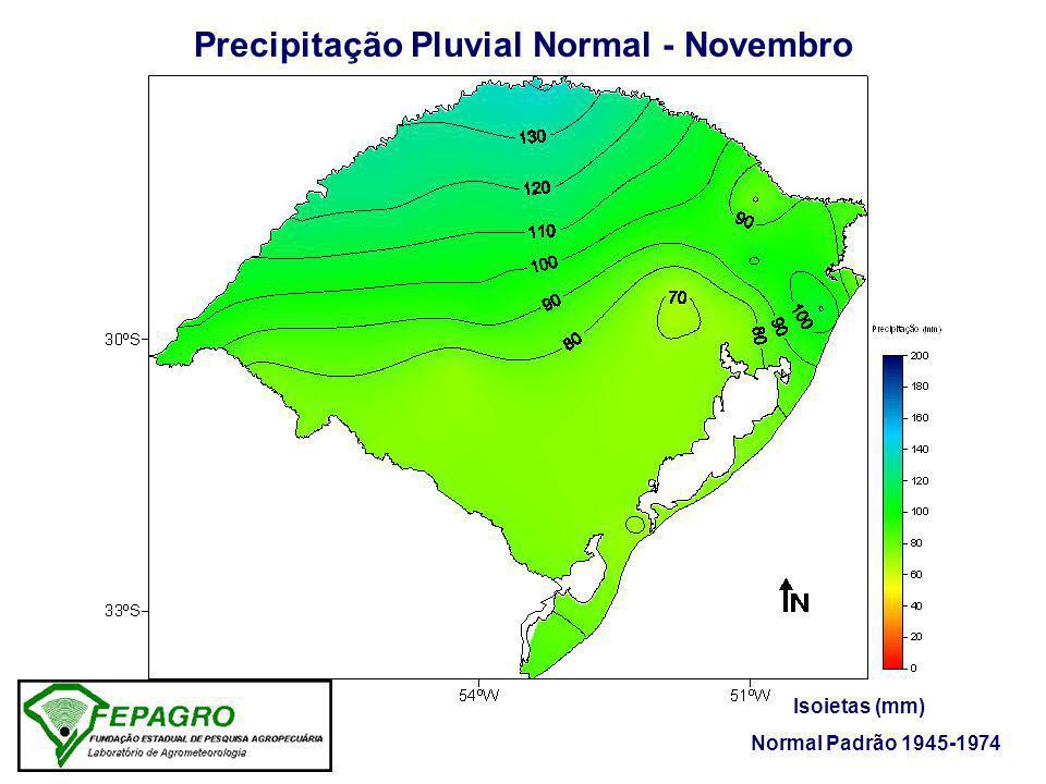 Precipitação Pluvial Normal - Novembro