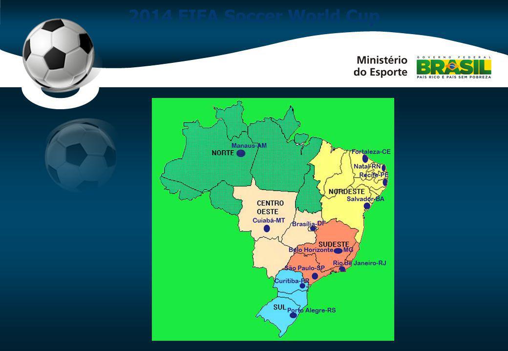 O modelo de governança sugerido para a Copa 2014 segue quatro diretrizes principais