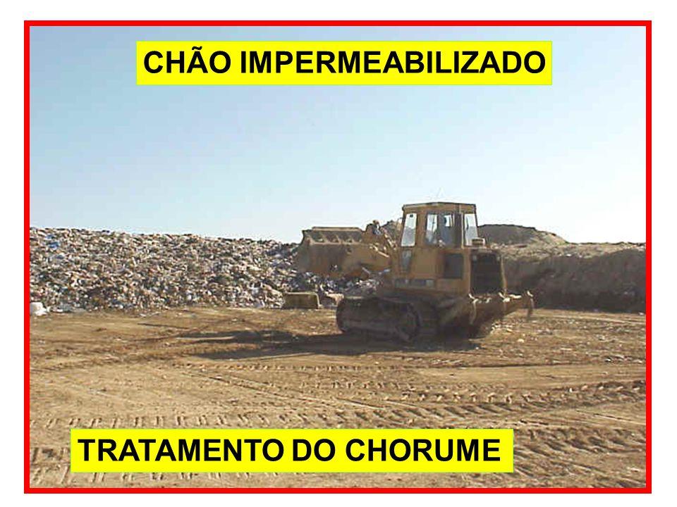 CHÃO IMPERMEABILIZADO