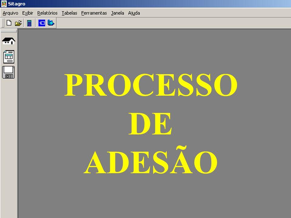 PROCESSO DE ADESÃO