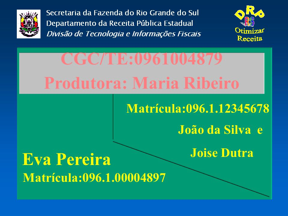 Produtora: Maria Ribeiro