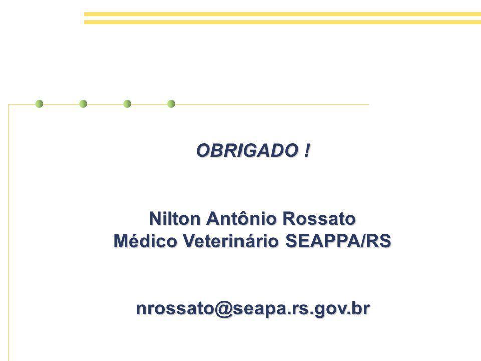 Nilton Antônio Rossato Médico Veterinário SEAPPA/RS