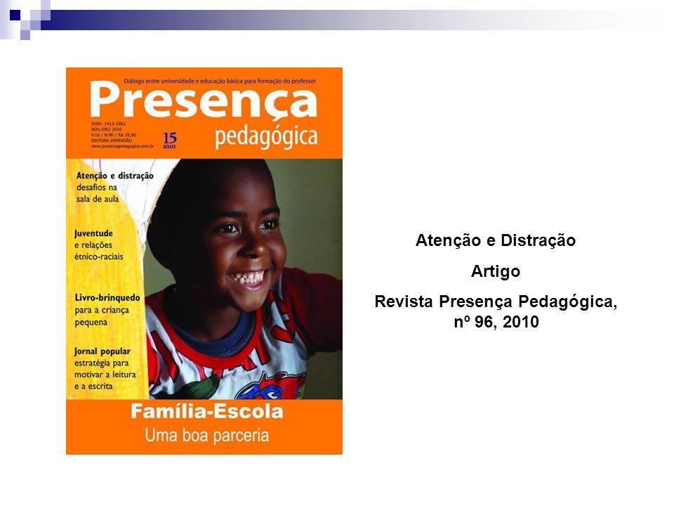 Revista Presença Pedagógica, nº 96, 2010