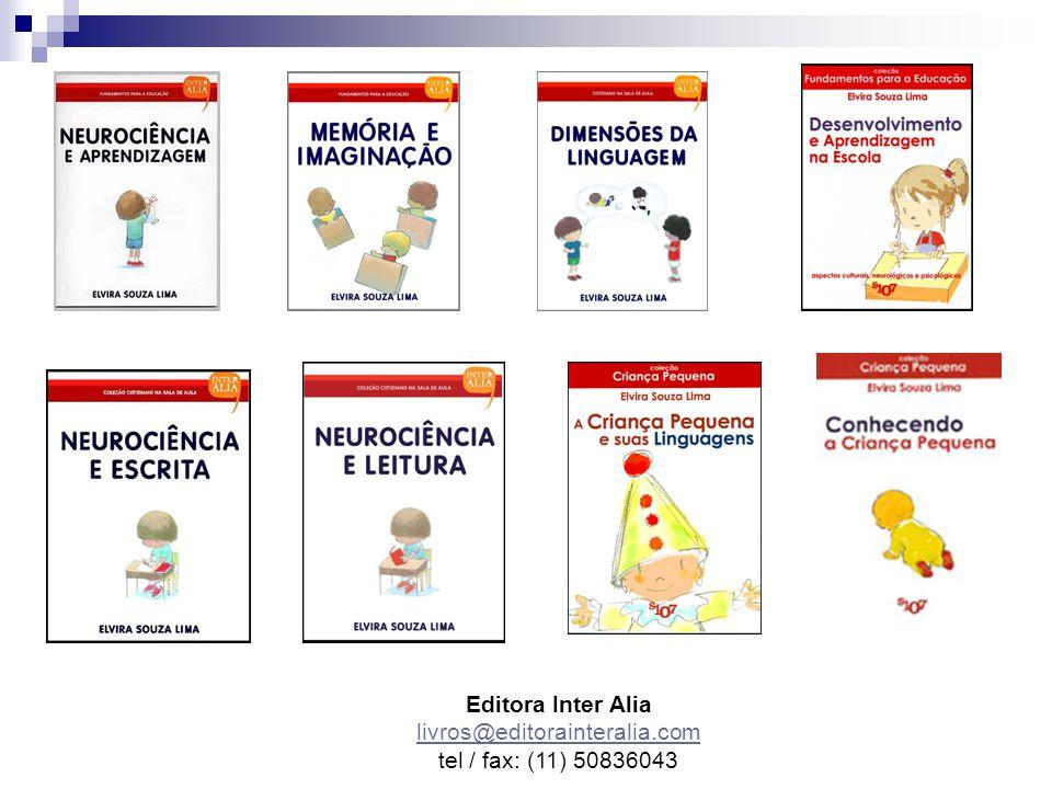 Editora Inter Alia livros@editorainteralia