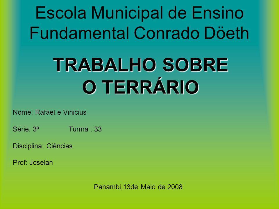 Escola Municipal de Ensino Fundamental Conrado Döeth