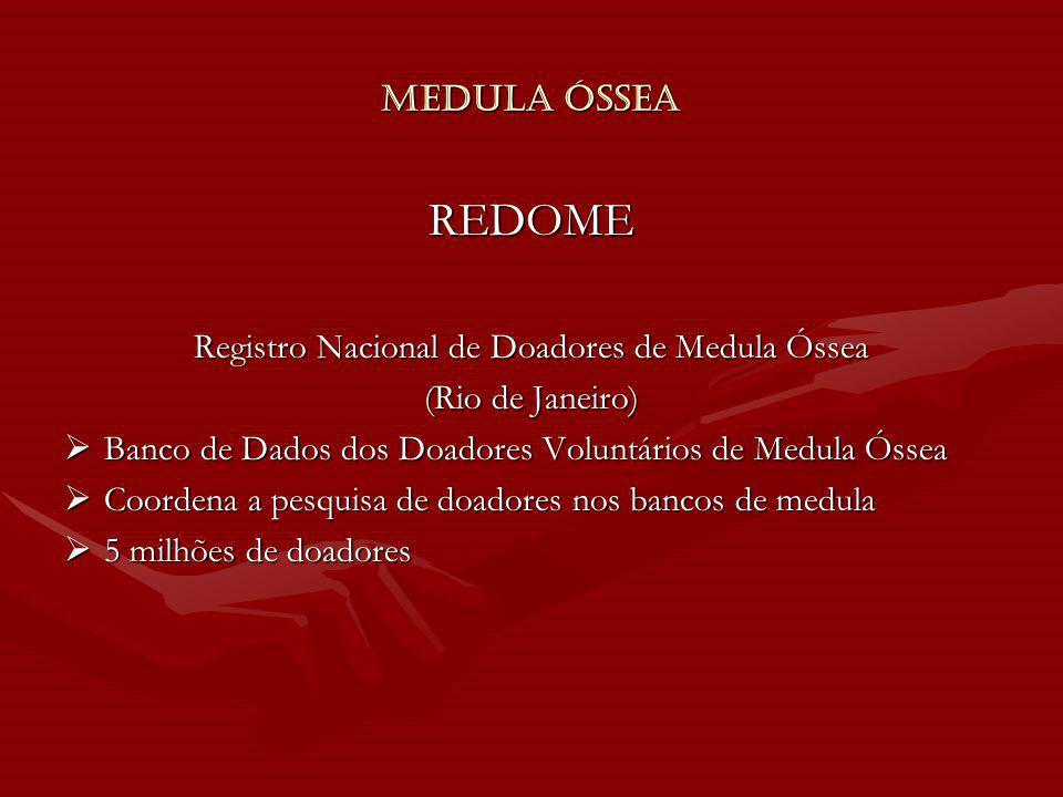 Registro Nacional de Doadores de Medula Óssea