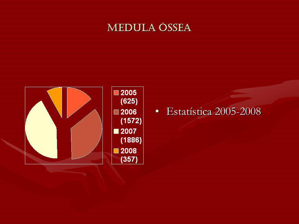 Medula Óssea Estatística 2005-2008
