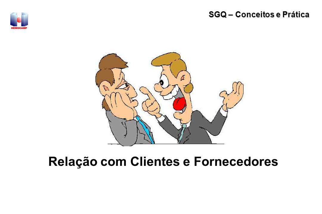 Relação com Clientes e Fornecedores