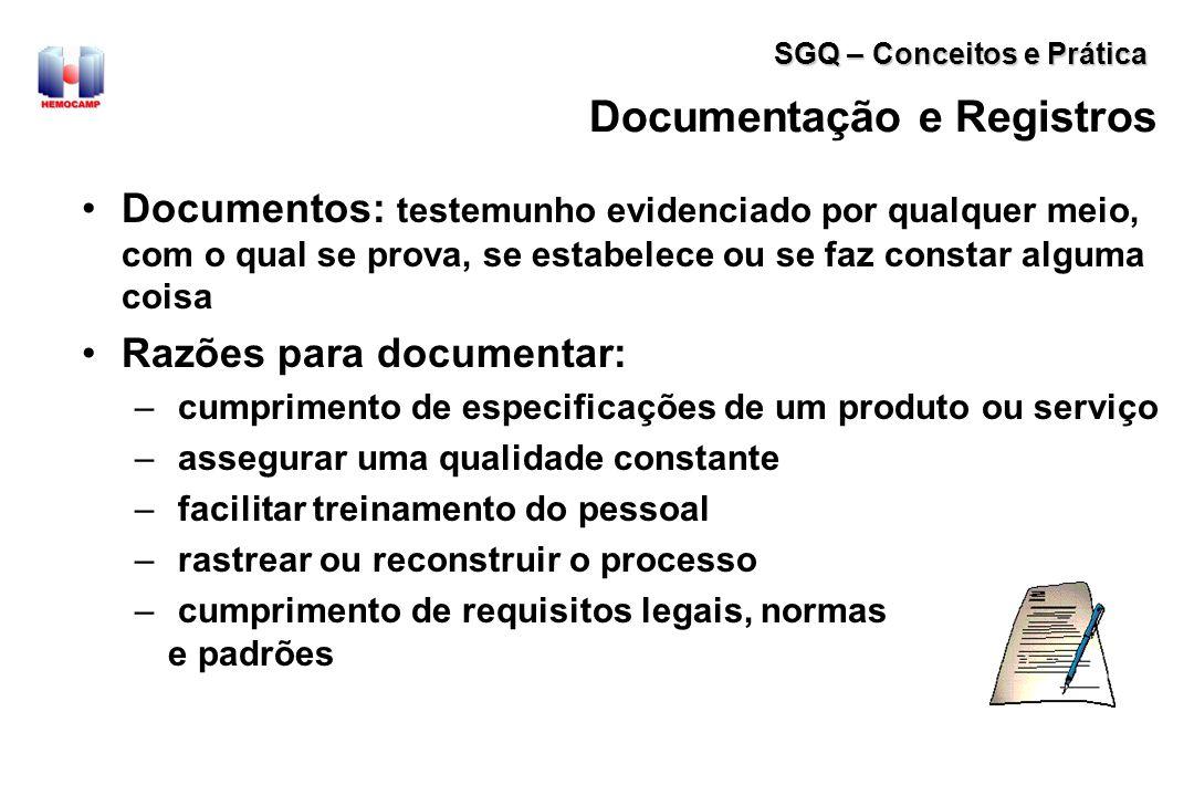 Documentação e Registros