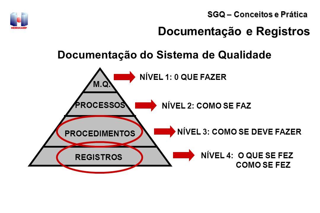 Documentação do Sistema de Qualidade