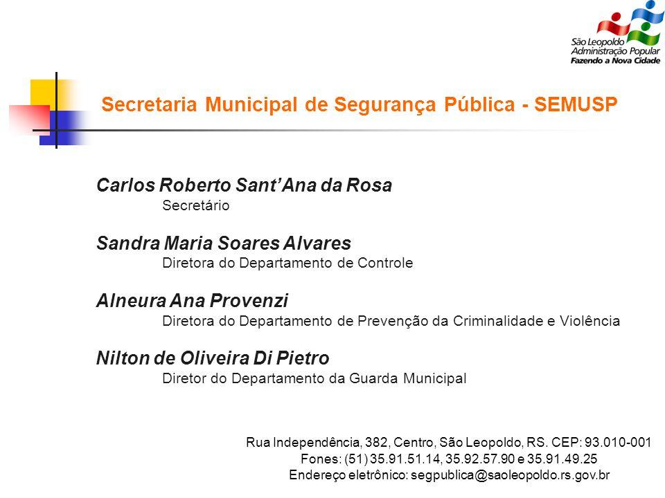 Secretaria Municipal de Segurança Pública - SEMUSP