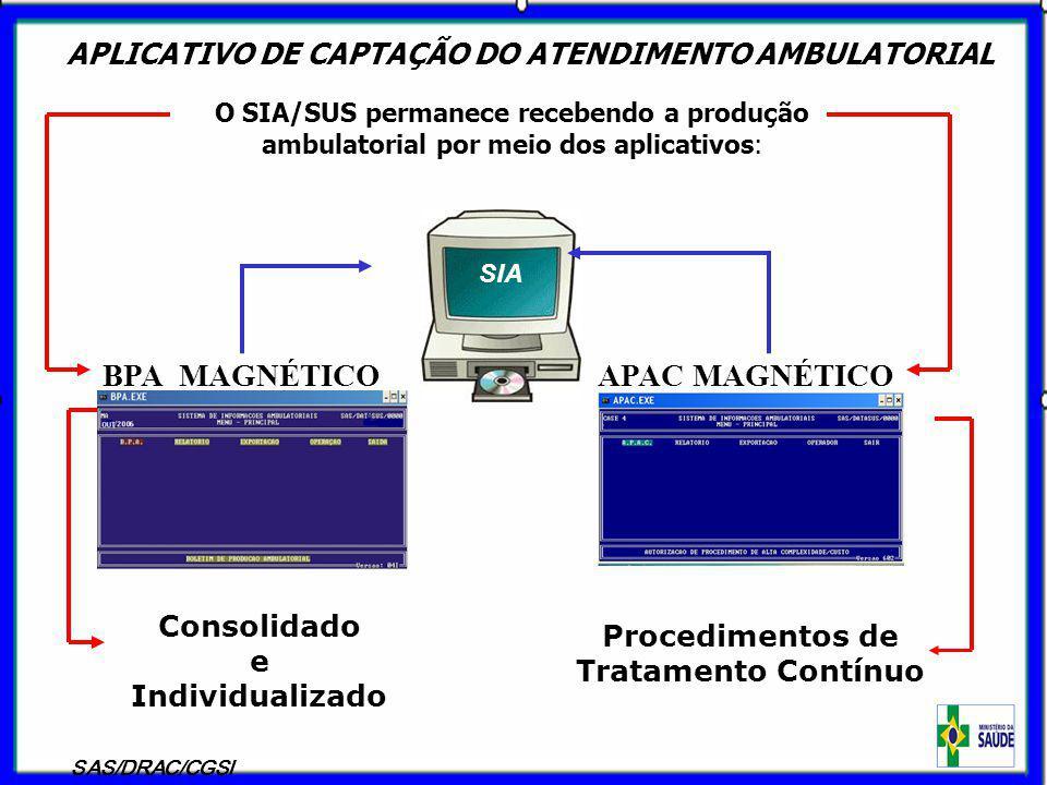 APLICATIVO DE CAPTAÇÃO DO ATENDIMENTO AMBULATORIAL