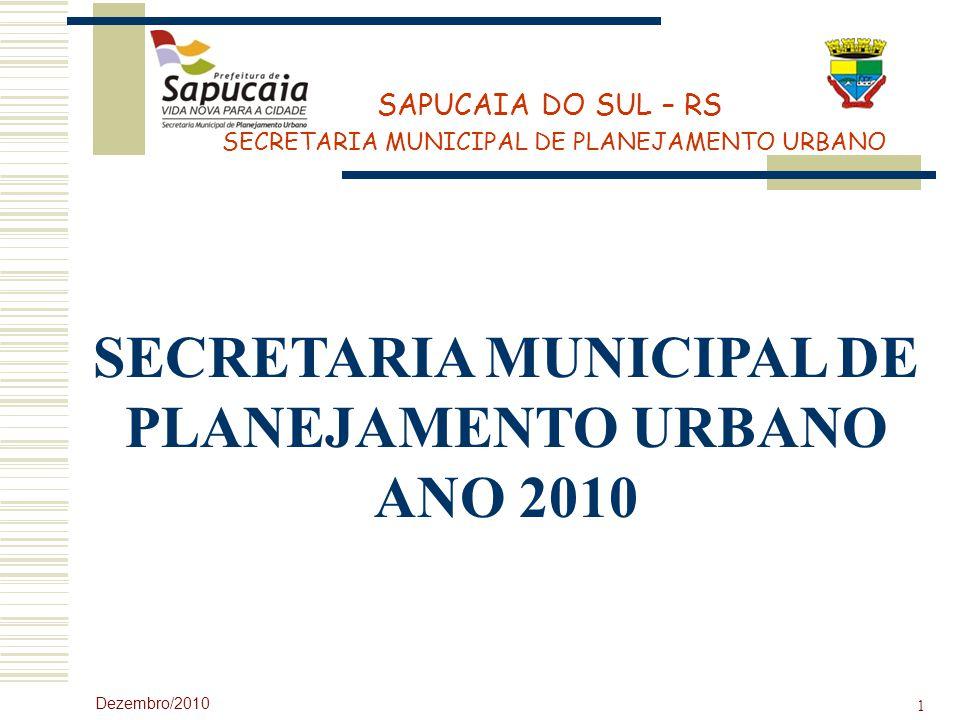 SECRETARIA MUNICIPAL DE PLANEJAMENTO URBANO