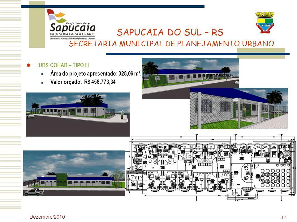 Área do projeto apresentado: 328,06 m². Valor orçado: R$ 458.773,34