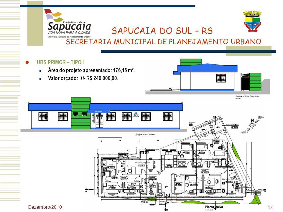 Área do projeto apresentado: 176,15 m².