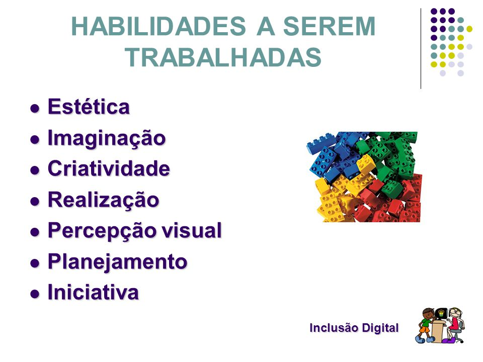 HABILIDADES A SEREM TRABALHADAS