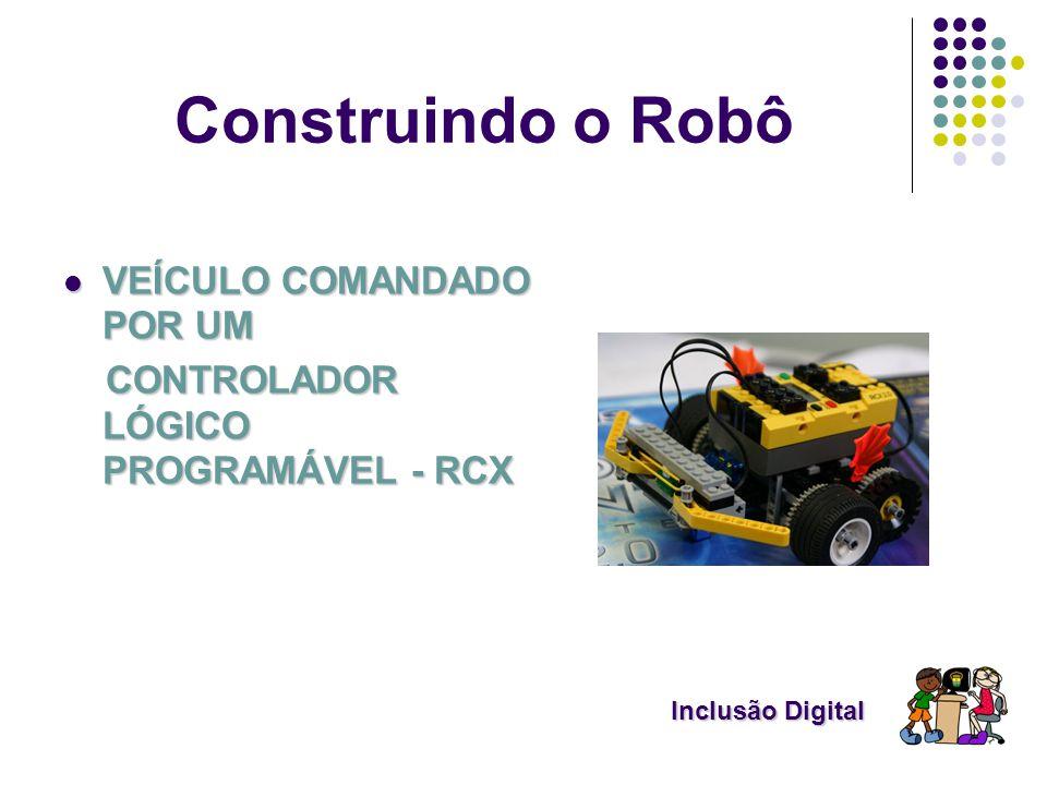 Construindo o Robô VEÍCULO COMANDADO POR UM