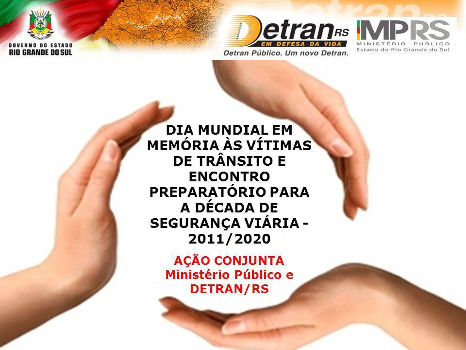 AÇÃO CONJUNTA Ministério Público e DETRAN/RS