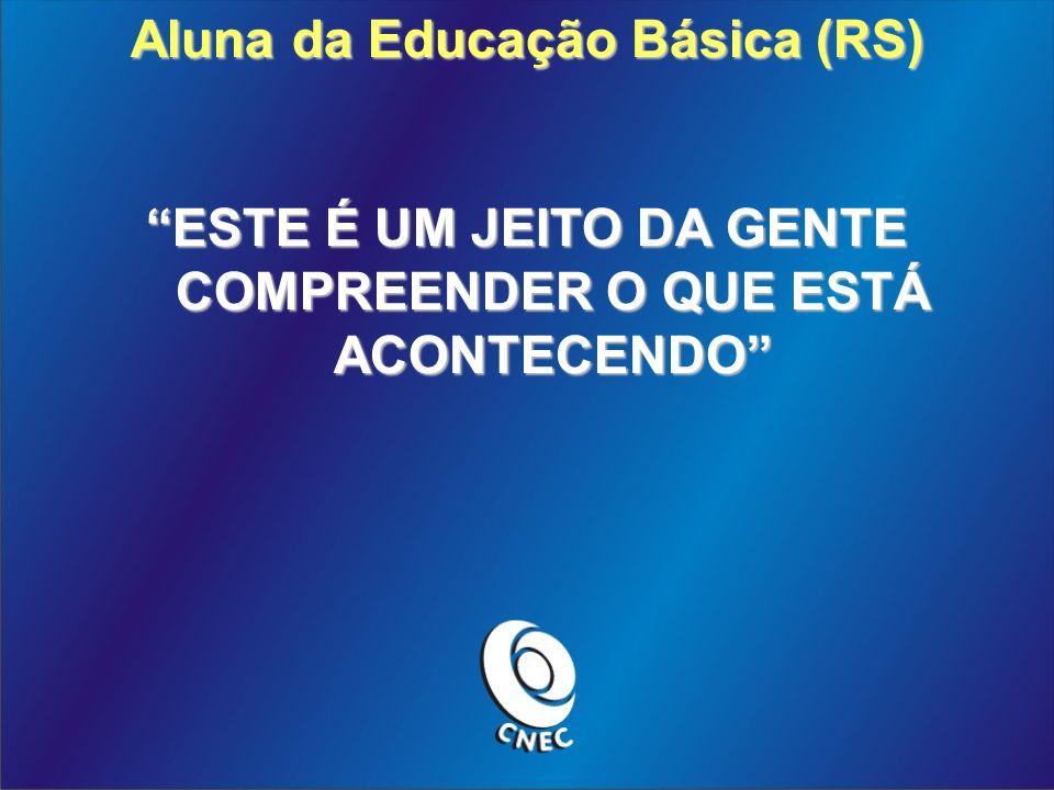 Aluna da Educação Básica (RS)
