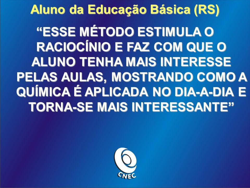 Aluno da Educação Básica (RS)